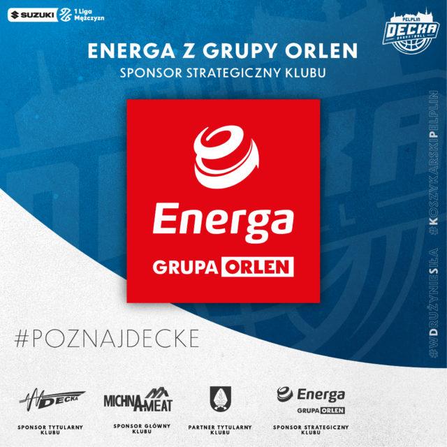 ENERGA z grupy ORLEN sponsorem strategicznym klubu!